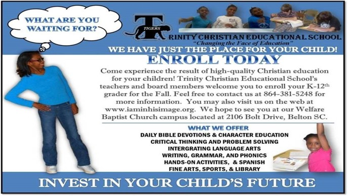 Enroll you child today
